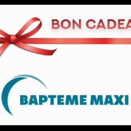 Bon cadeau baptême Maxi